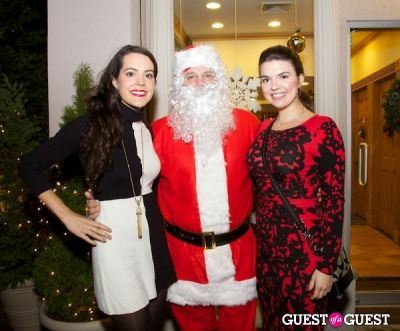 katy schull in Strazzullo Law Firm annual Christmas Tree Lighting