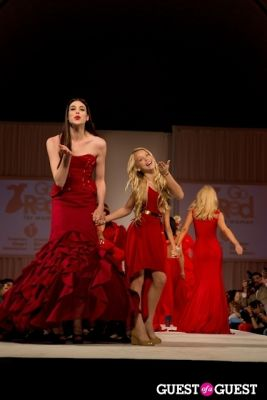 kaylyn slevin in Linden LA + Madisonpark Collective + GO RED for Women LAFW