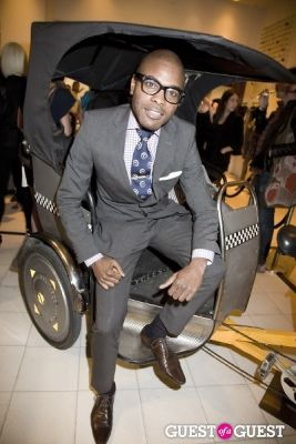 keino benjamin in Alice and Olivia Opening