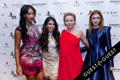 masha lopatova in The 2nd Annual NBA, NFL and MLB Wives Holiday Soiree