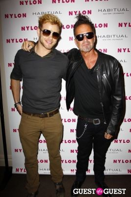 kellan lutz in NYLON Music Issue Party