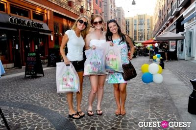kelley anne-carneydevin-searsmary-lynne-kopcik in Bethesda Row Summer Sidewalk Sale 2013