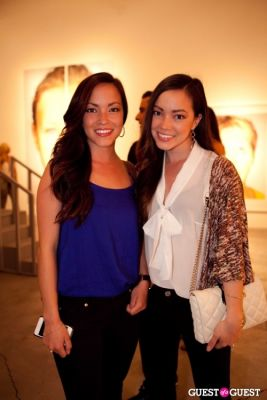 katie cockrell in Martin Schoeller Identical: Portraits of Twins Opening Reception at Ace Gallery Beverly Hills