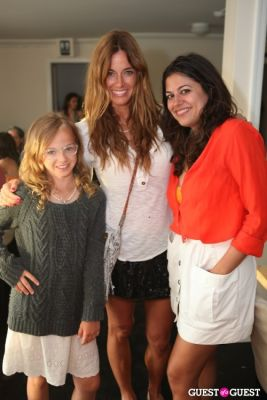 kelly bensimon in Banzai Burger Grand Opening Party with Guest of a Guest