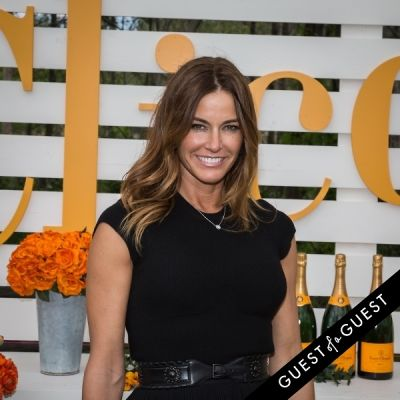 kelly bensimon in Veuve Clicquot Polo Classic 2014