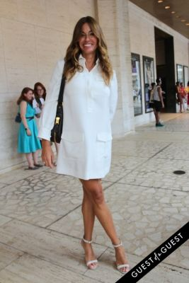 kelly bensimon in NYFW Style From the Tents: Street Style Day 3