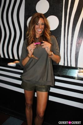 kelly bensimon in M.A.C alice + olivia by Stacey Bendet Collection Launch