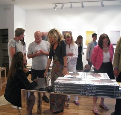 calvin klein in Kelly Klein HORSE Book Signing at Rizzoli Bookstore at Empire Gallery