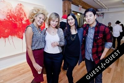 ana ortiz in ART Now: PeterGronquis The Great Escape opening