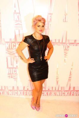 kelly osbourne in MAC Viva Glam Launch with Nicki Minaj and Ricky Martin