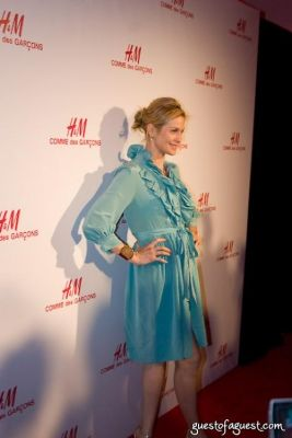 kelly rutherford in H&M Introduces The Commes Des Garcon Collection