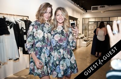 jessica gayheart-dane in Anine Bing, Flagship Store Opening