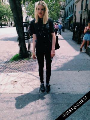 kelsey ferguson in Summer 2014 NYC Street Style