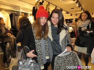 taryn multack in H&M x Isabel Marant Launch Party