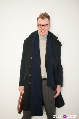 ken downing in NYC Fashion Week FW 14 Street Style Day 1