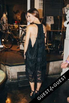 kendra mate in Amanda Shi Spring 2015 Collection Preview