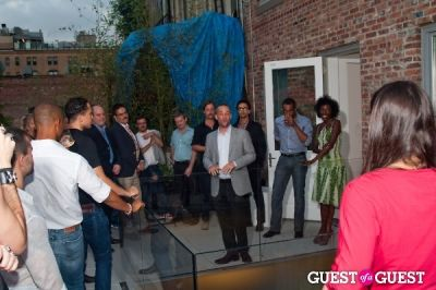 kenneth cox in GMHC Fashion Forward Rooftop Reception