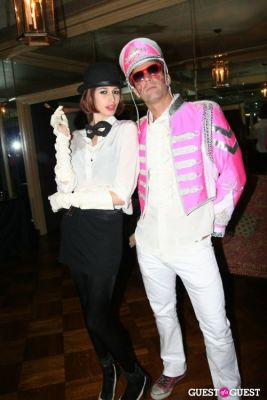 kenza fourati in Lovecat Magazine Halloween Dinner Hosted by Jessica White and Byrdie Bell