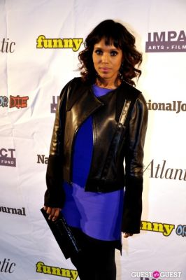 kerry washington in WHCD First Amendment Party
