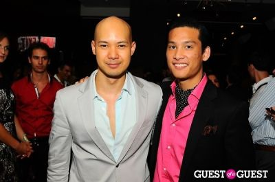 andrew chan in Stephen Mikhail Resort Collection 2012