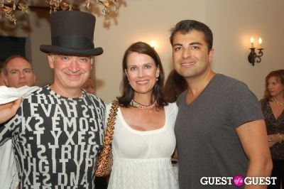 chris cicero in Vogelsang Gallery After- Hamptons Fair Cocktail Party