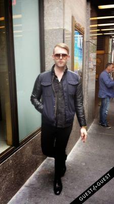 kevin mazeski in Summer 2014 NYC Street Style
