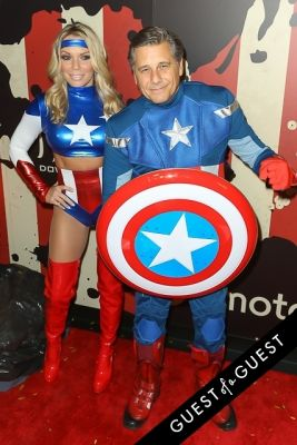 kevin mazur in Heidi Klum's 15th Annual Halloween Party