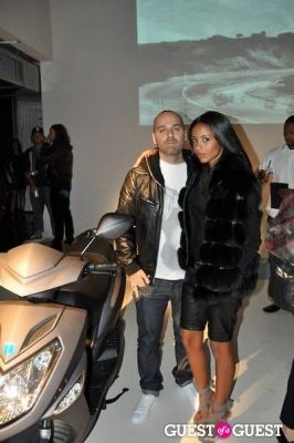 fanny bourdette-donon in Evolve Motorcycle Launch Party