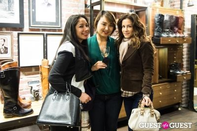 ej kim in The Frye Company Pop-Up Gallery