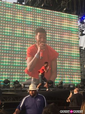 kid cudi in Coachella 2014 -  Weekend 1