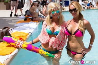 kim ball in Coachella: LED Day Club at the Hard Rock Hotel