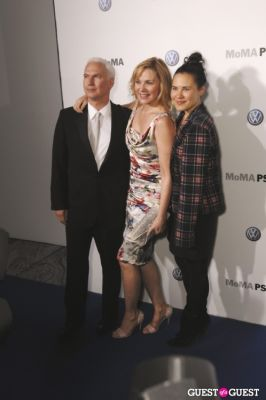 kim cattrall in VOLKSWAGEN, MoMA and MoMA PS1 host a celebratory dinner