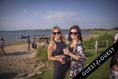 hillary latham in GUEST OF A GUEST x DOLCE & GABBANA Light Blue Mediterranean Escape In Montauk