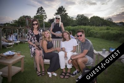 kim gillie in GUEST OF A GUEST x DOLCE & GABBANA Light Blue Mediterranean Escape In Montauk