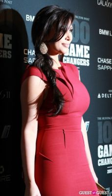 kim kardashian in 2011 Huffington Post and Game Changers Award Ceremony