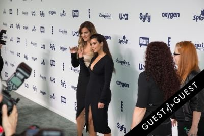 kloe kardashian in NBCUniversal Cable Entertainment Upfront