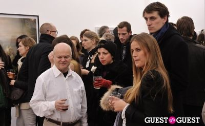 elyse lightner in Bowry Lane group exhibition opening at Charles Bank Gallery