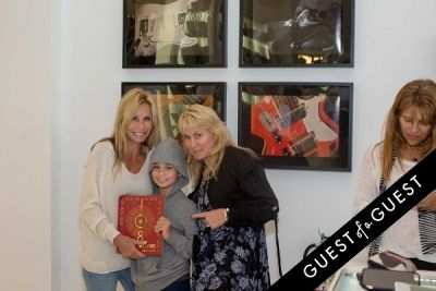nicky labonte in Lisa S. Johnson 108 Rock Star Guitars Artist Reception & Book Signing