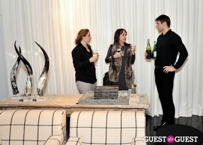 kimberly merchant in Michael Dawkins Home NYC Showroom and Design Studio Opening
