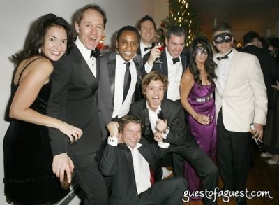greg bryan in Masquerade christmas party
