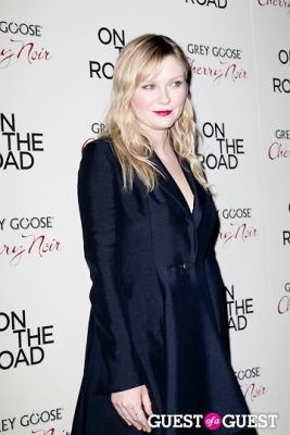 kirsten dunst in NY Premiere of ON THE ROAD