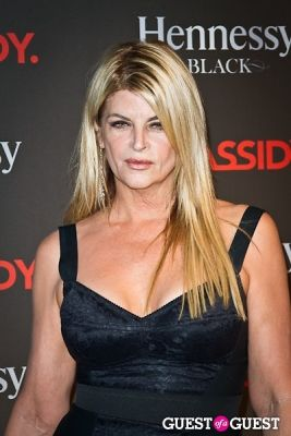 kirstie alley in DJ Cassidy's Birthday at Intrepid Air and Space.