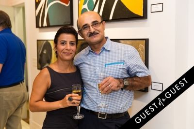 nada kavousi in P Street Gallerie Opening