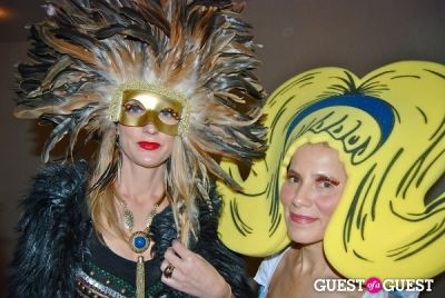 kjersti flaa in Halloween Party hosted by Nur Khan, Scott Lipps and MazDak Rassi