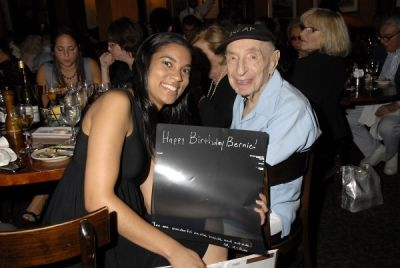 knee ray-chin in Bernard Bierman's 101st Birthday Party