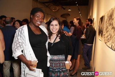 korama danquah in IvyConnect Art Gallery Reception at Moskowitz Gallery