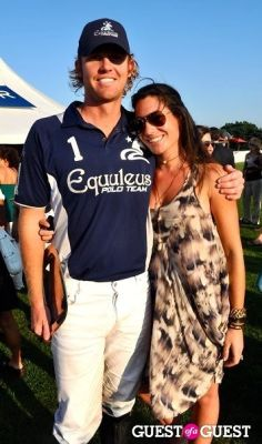 laura de-gunzburg in Bridgehampton Polo-Support Hope, Help & Rebuild Haiti (HHRH)