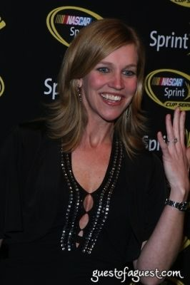 krista voda in NASCAR CHamp Celebration Red Carpet