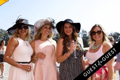 rosa grayr in The Sixth Annual Veuve Clicquot Polo Classic