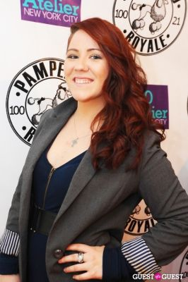 kristen kelly in PAMPERED ROYALE BY MALIK SO CHIC Fall 2011 Handbag Launch